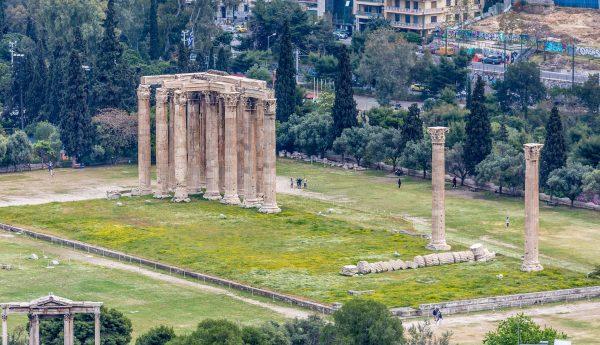 Avio karte Beograd Atina hram boga Zevsa
