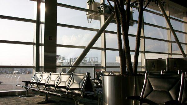 Detroit aerodrom čekaonica