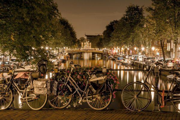 Saveti za putovanje u Amsterdam - Amsterdam nocu