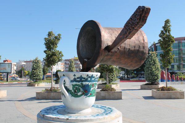 Avio karte Beograd Turk skulktura solja i dyeva sa kafom